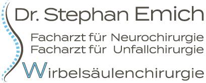 Dr. Stephan Emich Wirbelsaeulenspezialist